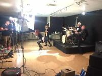 Rehearsal/Video Production Studios for sale.