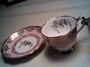 Over 25% off sale continues English Bone China Teacups/Saucers