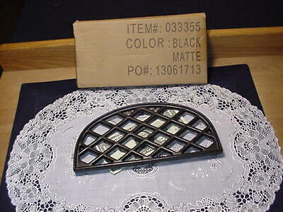 John Wright 033355 Trivet, Lattice Half Style, Black, Flat Black Color, NEW! John Wright Lattice Trivets