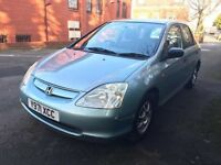 2001 Honda Civic 1.4 5 Door Hatchback