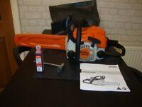 stihl ms 170 petrol chainsaw