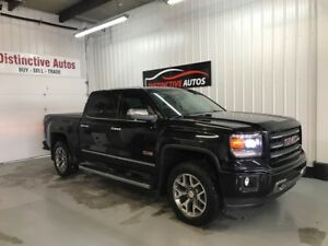 2014 GMC Sierra 1500 SLT Crew ALL TERRAIN/NAVI/LEATHER/HTD SEATS