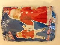 Mini Miss Santa - Girls Costume - Age 3-5 - Dress and Hat - Brand new and in original packaging