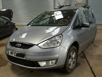 BREAKING FOR PARTS FORD GALAXY ZETEC 2.0 TDCI 6 SPEED MANUAL IN HYPNOTIC SILVER