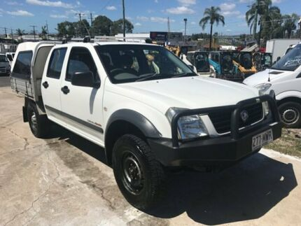 2004 Holden Rodeo RA LX (4x4) White 5 Speed Manual Crew C/Chas