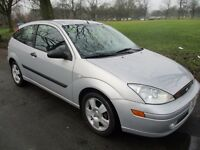 left hand drive ford focus 2.0 zetec 2003 one owner full mot 95k miles