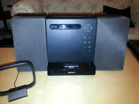 Sony CMT-LX20i Micro Hi-Fi Music System - Apple iPod iPhone Dock