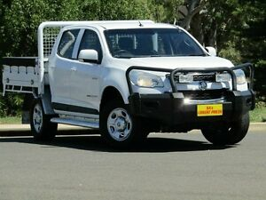 2013 Holden Colorado RG MY13 LX Crew Cab White 5 Speed Manual Utility Strathalbyn Alexandrina Area Preview