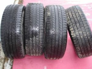 """4 Used Michelin p245 60 r 18"""" tires"""