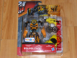 TRANSFORMERS THE MOVIE AGE OF EXTINCTION BUMBLEBEE 2-PACK MOC