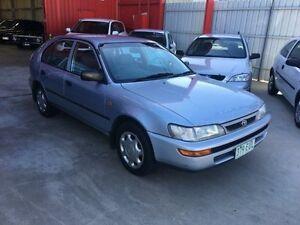 1998 Toyota Corolla AE112R Blue Manual Liftback Clontarf Redcliffe Area Preview