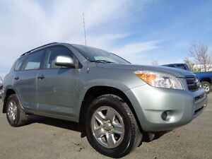 2007 Toyota RAV4 SPORT 4WD--ONE OWNER-2.4L 4 CYL-AMAZING ON GAS