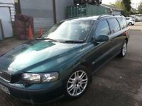 VOLVO V70 SE 52 REG ESTATE AUTOMATIC LEATHER GREEN