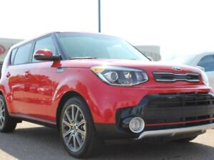 2018 Kia Soul SX TURBO, HEATED SEATS, HEATED WHEEL, BACKUP CAM,