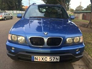 2003 BMW X5 E53 3.0 Blue Automatic Wagon Croydon Burwood Area Preview