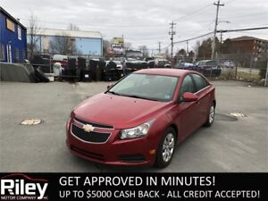 2013 Chevrolet Cruze LT Turbo STARTING AT $102.05 BI-WEEKLY
