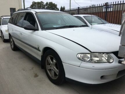 2001 Holden Commodore VX Executive White Automatic Wagon