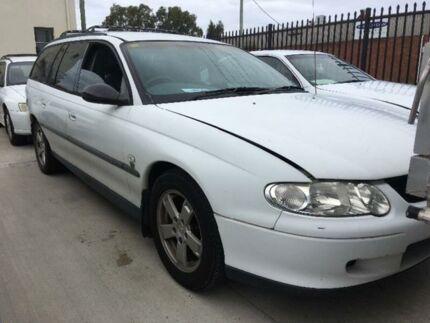 2001 Holden Commodore VX Executive White Automatic Wagon