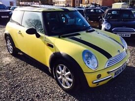 2004 MINI HATCHBACK 1.6 One LOW INSURANCE 12 MONTHS WARRANTY AVAILABLE