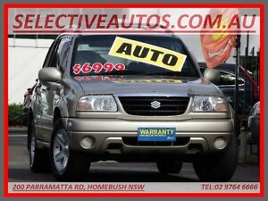 2004 Suzuki Grand Vitara Sports (4x4) Beige 4 Speed Automatic Wagon Homebush Strathfield Area Preview