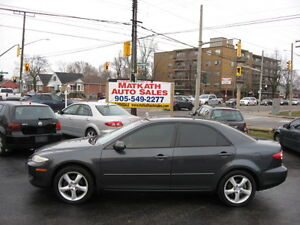 **2004 Mazda 6**   4 door Automatic  Certified & E-tested