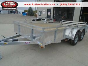$90 MONTHLY FOR OUR 2016 ALUMINUM 14' TANDEM AXLE TRAILER London Ontario image 1