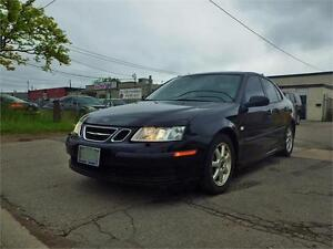07 SAAB 9-3 2.0T! 6-SPEED MANUAL! 210HP! CERTIFIED!