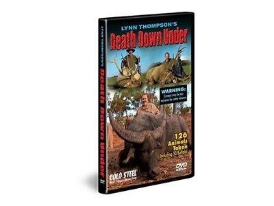 Cold Steel VDDU Lynn Thompson's Death Down Under DVD New