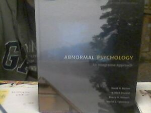 Abnormal Psychology -4th Canadian Edition / New