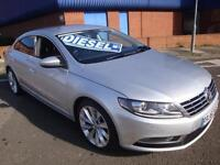 62 VOLKSWAGEN PASSAT CC GT TDI DIESEL £30 ROAD TAX *SATNAV LEATHER*