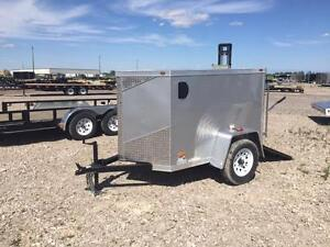 4ft x 6ft Enclosed Trailer (RWT4x6 Single Axle)