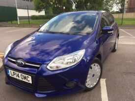 2014 Ford Focus 1.6TDCI Only34,100miles Full Ford Serv History,£0 TAX,Mot July18,1Owner fromNEW, P/X