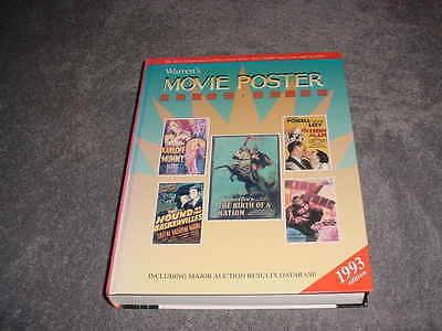WARREN`S MOVIE POSTER PRICE GUIDE    1993 EDITION