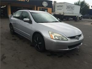 2005 Honda Accord,auto,leather,sunroof,power locks heated seats