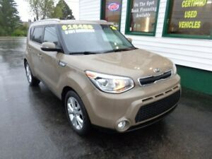 2016 Kia Soul Urban Cappuccino EX+ only $151 bi-weekly all in!