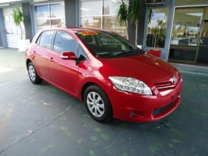 2011 Toyota Corolla ZRE152R MY11 Ascent Red 4 Speed Automatic Hatchback Hamilton Newcastle Area Preview