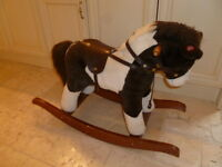 2 Horse Ride-On Toys