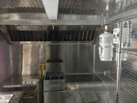 Chip Truck Fire Suppression System Installation