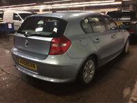 2008 58 Reg BMW 116 1.6 i ES AUTOMATIC,33,000 MILES,5 DOORS.