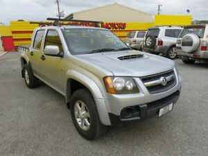 2010 Holden Colorado RC LX 4WD Silver 4 Speed Automatic Dual Cab