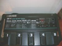 boss me 5 effects pedal