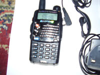 FM Transceiver BAOFENG ,Dual Band,FMradio,Model UV-5RA New not boxed.