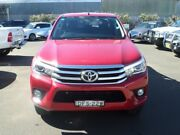 2016 Toyota Hilux GUN126R SR5 Double Cab Red 6 Speed Sports Automatic Utility Young Young Area Preview