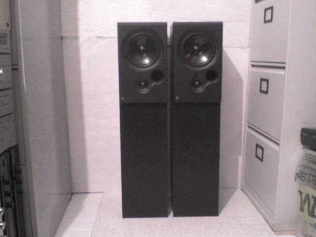 125W KEF tall Coda 9 Stereo Speakers -