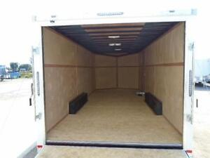 ENCLOSED CARGO/CAR HAULER LOWEST PRICE OF THE YEAR 20' LONG London Ontario image 3