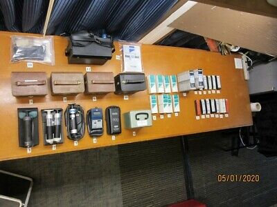 Drager Msa Gastec Others Air Samplers And Tubes Lot.