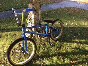 FIT Bmx Blue/Chrome Van Homan