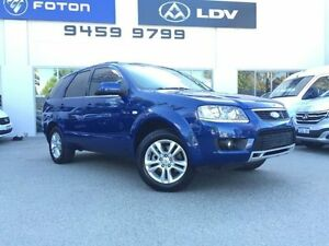 2010 Ford Territory SY Mkii TS (RWD) Blue 4 Speed Auto Seq Sportshift Wagon Beckenham Gosnells Area Preview