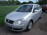 VOLKSWAGEN POLO MATCH (80BHP) Silver Manual Petrol, 2008