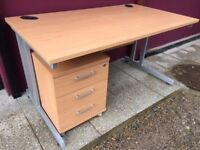 Beech 1400 straight office desk delivered to Belfast
